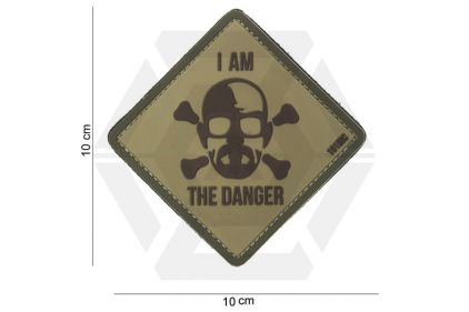"""101 Inc PVC Velcro Patch """"I Am The Danger"""""""