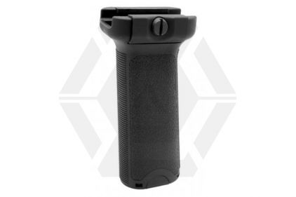 EB ALPHA Foregrip for 20mm Rail (Black)