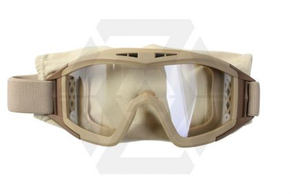 Mil-Force Elite Tactical Goggle Set (Tan)