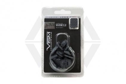 NCS KeyMod Single Slot Covers Pack of 18 (Grey)