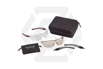 Bollé Gunfire Military Safety Glasses © Copyright Zero One Airsoft