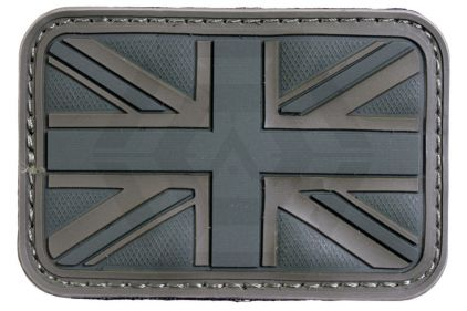 EB Velcro PVC Union Flag Patch (Olive)
