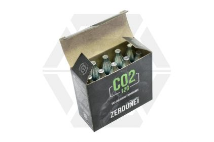 Zero One 12g CO2 Capsule Pack of 10 (Bundle)