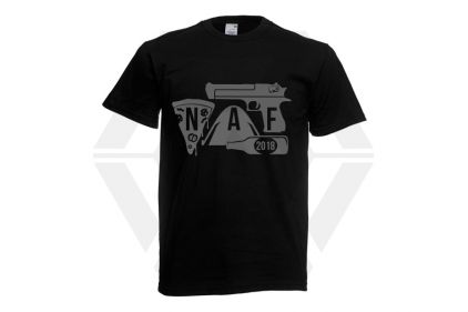 Daft Donkey Special Edition NAF 2018 'Airsoft Festival' T-Shirt (Black)