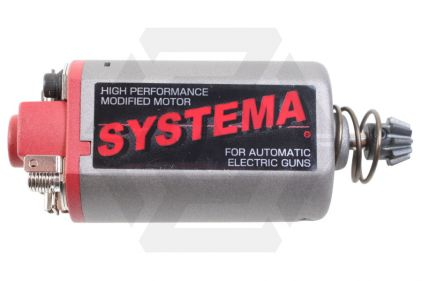 Systema High Speed Motor Short Shaft