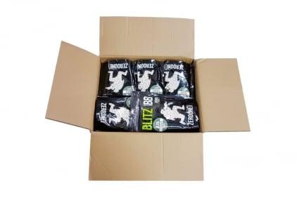 Zero One Blitz BB 0.28g 5000rds (White) Carton of 20 (Bundle) © Copyright Zero One Airsoft