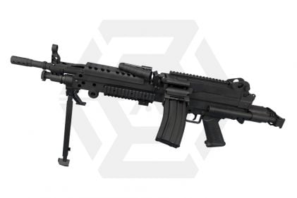 S&T AEG M249 PARA Sportline (Black) © Copyright Zero One Airsoft