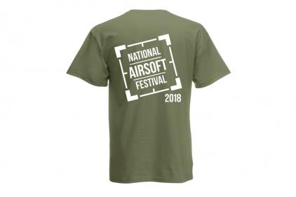 Daft Donkey Special Edition NAF 2018 'Original Logo' T-Shirt (Olive)