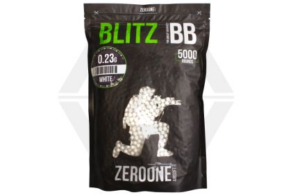 Zero One Blitz BB 0.23g 5000rds (White) Box of 10 (Bundle)