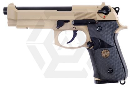 WE GBB M9A1 (Tan) © Copyright Zero One Airsoft