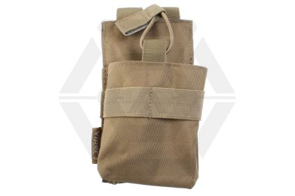 Viper MOLLE GPS/Radio/Phone Pouch (Coyote Tan) © Copyright Zero One Airsoft