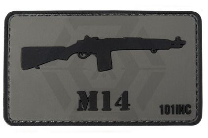 "101 Inc PVC Velcro Patch ""M14"""