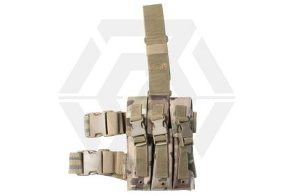 Viper PM5 Triple Magazine Drop Leg Holster (MultiCam) © Copyright Zero One Airsoft