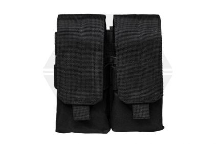NCS VISM MOLLE Stacked Double Mag Pouch for M4 (Black) © Copyright Zero One Airsoft