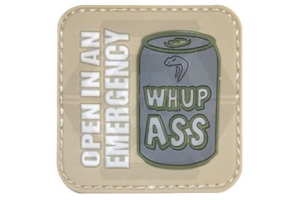 "Viper Velcro PVC Patch ""Whupass"""