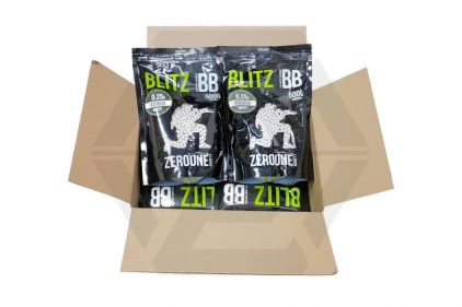 Zero One Blitz BB 0.25g 5000rds (White) Box of 10 (Bundle) © Copyright Zero One Airsoft