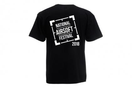 Daft Donkey Special Edition NAF 2018 'Original Logo' T-Shirt (Black)