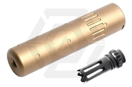 G&G QD Suppressor with SCAR Type Flash Hider (Tan)