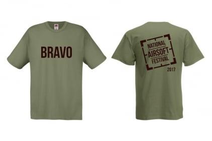 Daft Donkey Special Edition 'NAF 2017 Bravo' T-Shirt (Olive)