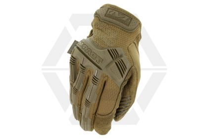 Mechanix M-Pact Gloves (Coyote) - Size Medium © Copyright Zero One Airsoft