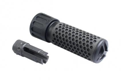 FMA QD Suppressor with Flash Hider (Black) © Copyright Zero One Airsoft