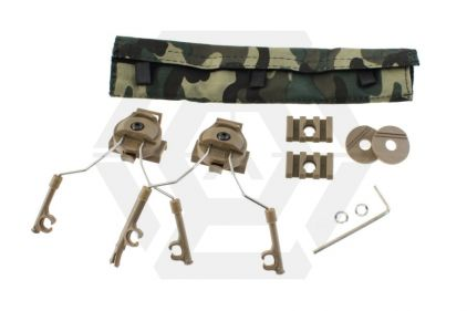 Z-Tactical Helmet Rail Adapter Set (Tan)