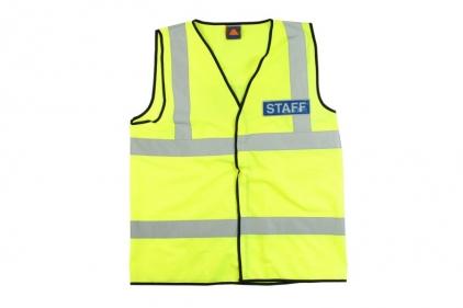 Zero One VizMax Pro Reflective Staff Vest - Size Medium © Copyright Zero One Airsoft
