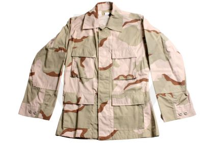 Tru-Spec U.S. BDU Rip-Stop Shirt (Desert Tri-Colour) - Chest M 37-41""