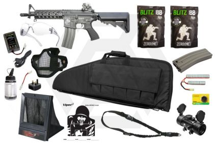 Zero One AEG CM16 Raider Starter Pack Tier 3 (Bundle)