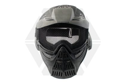 Pirate Arms Commander Mesh Full Face Mask (Black) © Copyright Zero One Airsoft