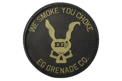 "Enola Gaye Velcro PVC Patch ""We Smoke You Choke"""