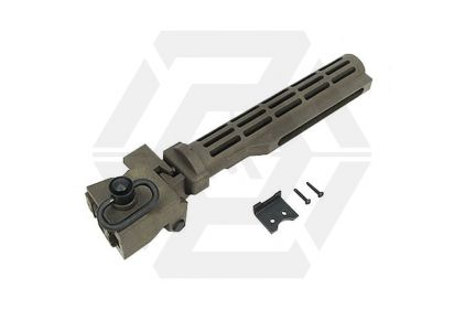 King Arms Folding Stock Tube for AK (Dark Earth)