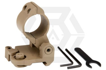 101 Inc Flip-to-Side Mount with QD (Tan) © Copyright Zero One Airsoft
