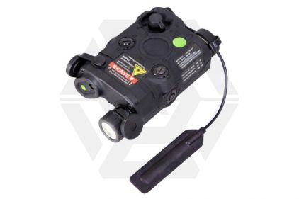 Bravo PEQ-15 Dual Laser & LED Illuminator (Black)