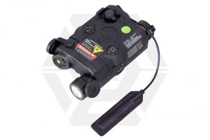 Bravo PEQ-15 Dual Laser & LED Illuminator (Black)