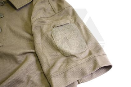 Viper Tactical Polo Shirt (Coyote Brown) - Size Large
