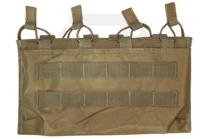 Viper MOLLE Quick Release Quadruple Mag Pouch (Coyote Tan) © Copyright Zero One Airsoft