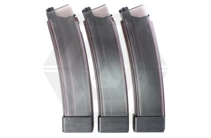 ASG AEG Mag for Scorpion EVO 3 75rds (Pack of 3) (Tinted) © Copyright Zero One Airsoft