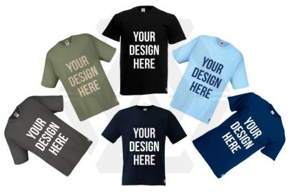Daft Donkey T-Shirt 'Your Design Here' © Copyright Zero One Airsoft