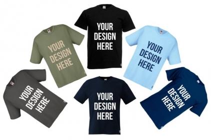 Daft Donkey T-Shirt 'Your Design Here'