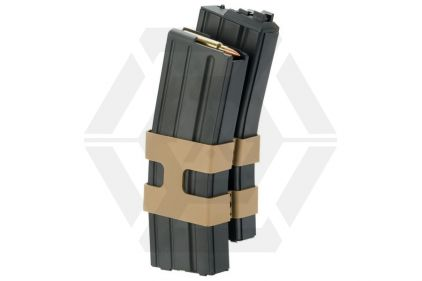 WE GBB Double Mag for M4 with Dummy Bullet 80rds