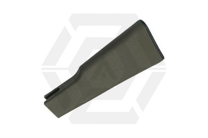 King Arms Solid Stock for AK (Olive) © Copyright Zero One Airsoft