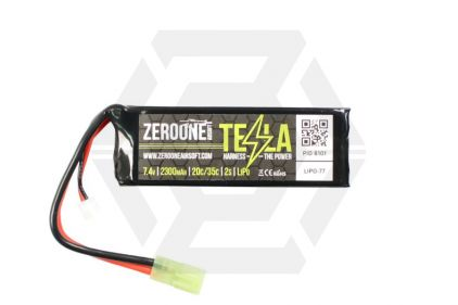 Zero One 7.4v 2300mAh 20C LiPo Battery © Copyright Zero One Airsoft