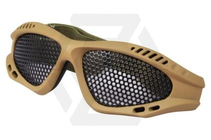 Viper Tactical Mesh Glasses (Coyote Tan)