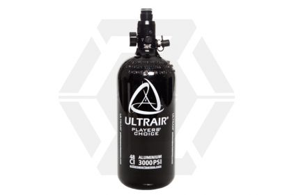 ASG Ultrair 0.8L/48ci 3000psi Aluminium HPA Tank with Regulator