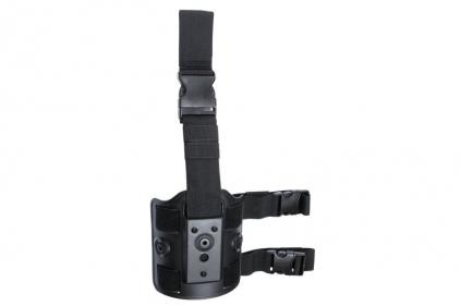 ASG Leg Platform for Rigid Polymer Holster (Black)