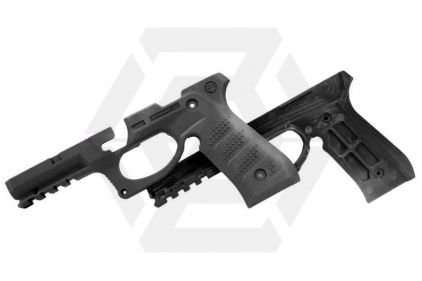 Recover CC3 Grip & Rail System for Marui 1911 (Black)