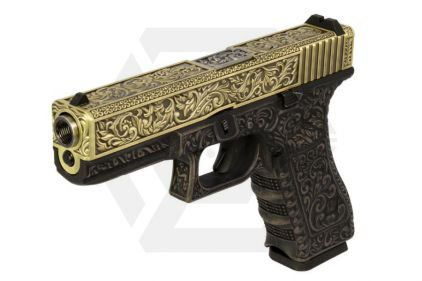 WE GBB Ornate Bronze G17