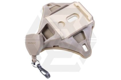 FMA L4 NVG Mount Shroud with Lanyard (Dark Earth)