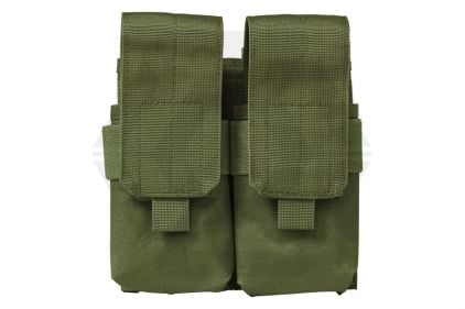 NCS VISM MOLLE Stacked Double Mag Pouch for M4 (Olive) © Copyright Zero One Airsoft